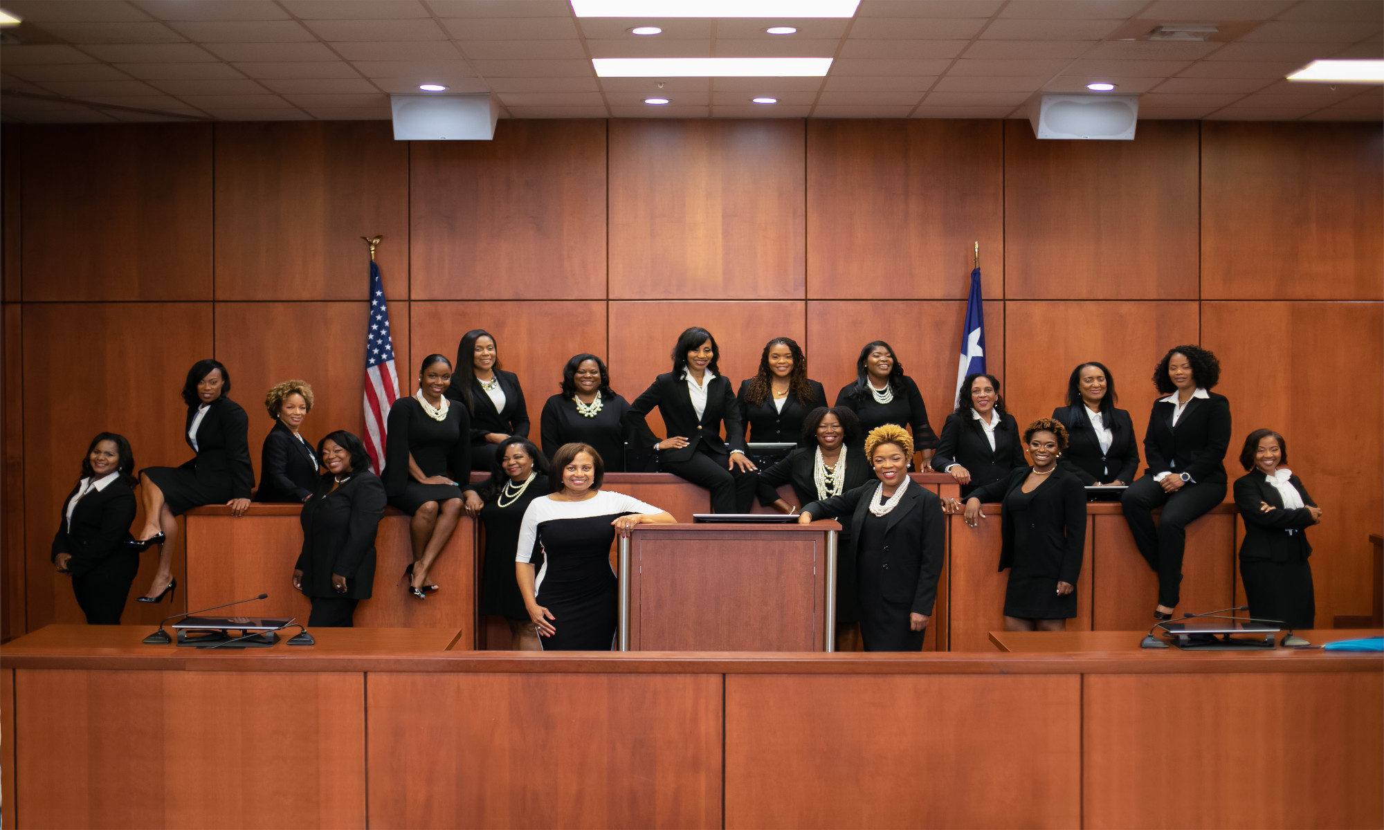 17 African American Judges Sworn In at Texas County